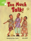 Image for Rigby Star Guided Phonic Opportunity Readers Green: Too Much Talk Pupil Bk (Single)