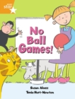 Image for Rigby Star Guided: No Ball Games Orange LEvel Pupil Book (Single)