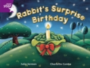 Image for Rigby Star Guided 2 Purple Level: Rabbit's Surprise Birthday Pupil Book (single)