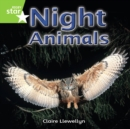 Image for Rigby Star Independent Year 1 Green Non Fiction Night Animals Single