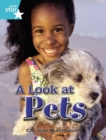 Image for Rigby Star Independent Year 2 Turquoise Non Fiction A Look At Pets Single