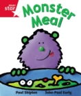 Image for Rigby Star guided Reception Red Level:  Monster Meal Pupil Book (single)