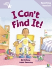 Image for I can't find it!, Jill Atkins, Sami Sweeten: Teaching version