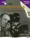 Image for Rig Star Non-fiction Gui Reading Purple Level: The Inventions of Thomas Edison Teaching Ve