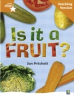 Image for Rigby Star Non-fiction Guided Reading Orange Level: Is it a fruit? Teaching Version