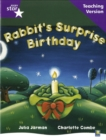 Image for Rigby Star Guided Reading Purple Level: Rabbit's Surprise Birthday Teaching Version