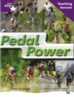 Image for Rigby Star Non-fiction Guided Reading Purple Level: Pedal Power Teaching Version
