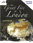 Image for Rigby Star Guided White Level: The Great Fire of London Teaching Version