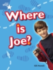 Image for Rigby Star Guided Blue: Pupil Book Single: Where Is Joe?