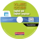 Image for WJEC GCSE English and English Language Foundation ActiveTeach
