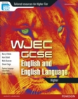 Image for WJEC GCSE English and English language: Higher student book