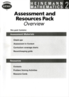 Image for Heinemann Maths 2: Assessment and Resources Sheets