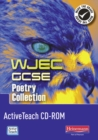 Image for WJEC GCSE English Literature Poetry Collection ActiveTeach CD-ROM