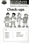 Image for Heinemann Maths 1: Check-up Booklets (8 Pack)