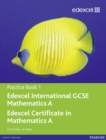 Image for Edexcel IGCSE mathematics APractice book 1