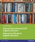 Image for Edexcel IGCSE English literature: Student book