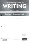 Image for Developing Skills in Writing Teachers Resource File