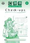 Image for New Heinemann Maths Yr1, Check-up Workbook (8 Pack)
