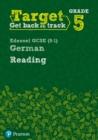 Image for Target grade 5 reading edexcel GCSE (9-1) German: Workbook