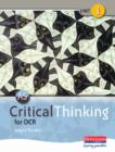 Image for AS critical thinking for OCRUnit 1 : Unit 1