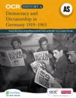 Image for Democracy and dictatorship in Germany 1919-1963