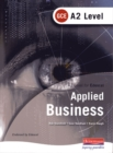 Image for Applied business  : A2 level for Edexcel