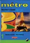 Image for Metro 1 Teacher's Guide Euro Edition