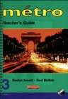 Image for Metro 3 Vert Teacher's Guide Euro Edition