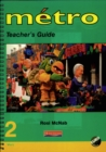 Image for Metro 2 Vert Teacher's Guide Euro Edition