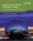 Image for Edexcel A level French grammar practice  : complete month-by-month revision programme for AS and A2