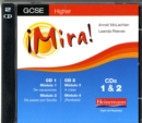 Image for Mira AQA/OCR GCSE Spanish Higher Audio CD Pack