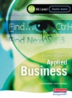 Image for Applied business  : AS leve for Edexcel