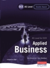 Image for Applied business  : AS level for OCR