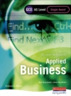 Image for GCSE applied business for Edexcel  : double award