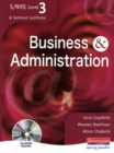 Image for Business & administration  : S/NVQ, level 3 & Technical Certificate