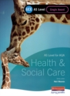 Image for Health & social care  : AS level for AQA