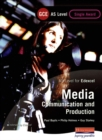 Image for AS GCE Media: Communication and Production Student Book (Edexcel)