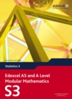 Image for Edexcel AS and A Level modular mathematics3: Statistics