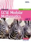 Image for Edexcel GCSE modular mathematicsFoundation unit 3,: Student book
