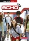 Image for Echo higher AQA GCSE German