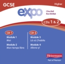 Image for Expo (OCR&AQA) GCSE French Higher Audio CDs (pack of 3)