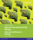 Image for Edexcel International GCSE Biology Student Book with ActiveBook CD