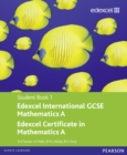 Image for Edexcel International GCSE Mathematics A Student Book 1 with ActiveBook CD