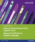 Image for Edexcel IGCSE English A & B: Student book