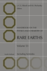 Image for Handbook on the physics and chemistry of rare earths: including actinides. : Volume 53