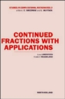 Image for Continued Fractions with Applications : Volume 3