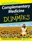 Image for Complementary medicine for dummies