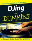 Image for DJing for dummies