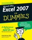Image for Microsoft Office Excel 2007 for dummies