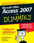 Image for Access 2007 for dummies